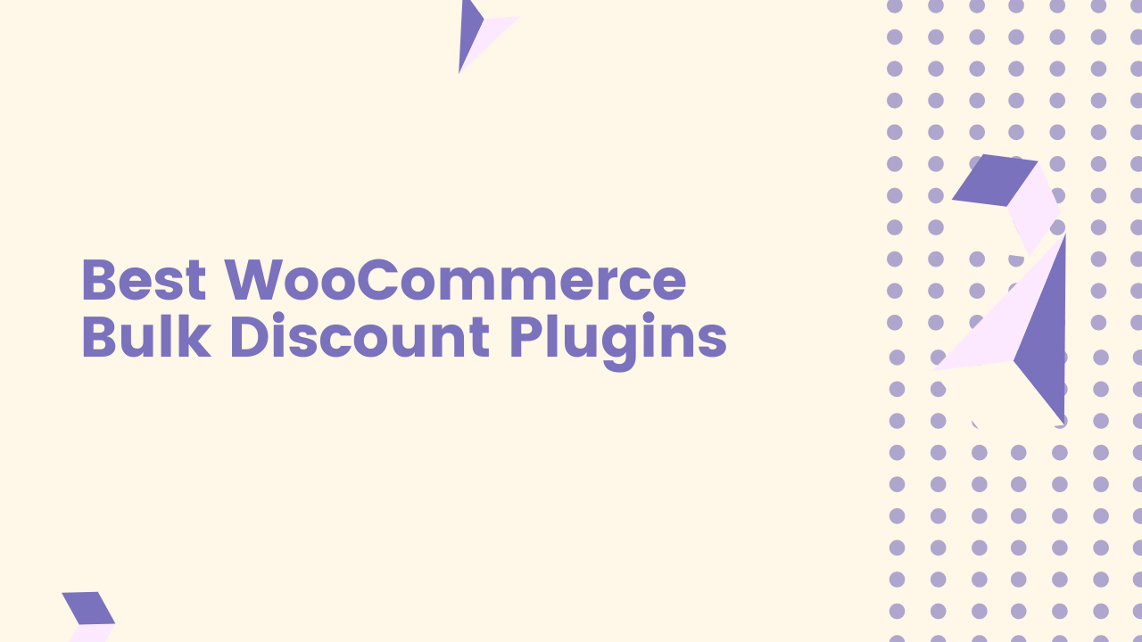 Best WooCommerce Bulk Discount Plugins