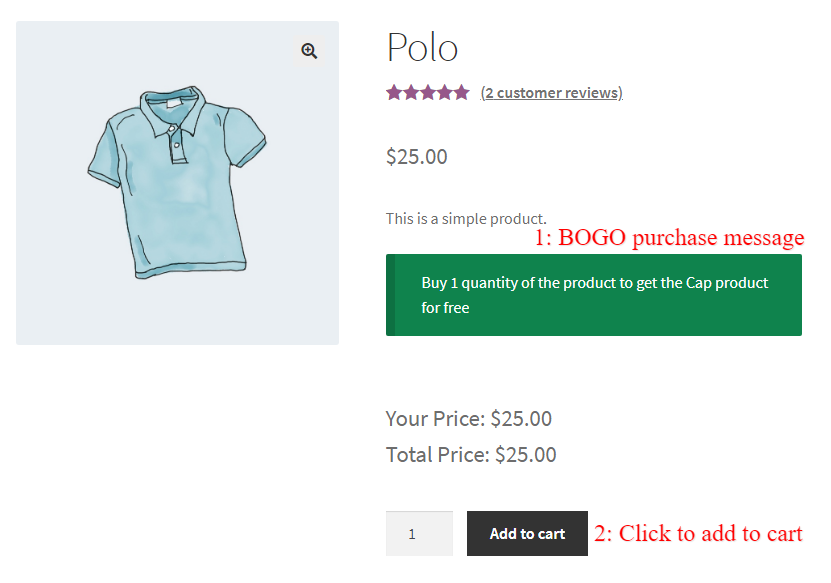 WooCommerce BOGO Discount Rule