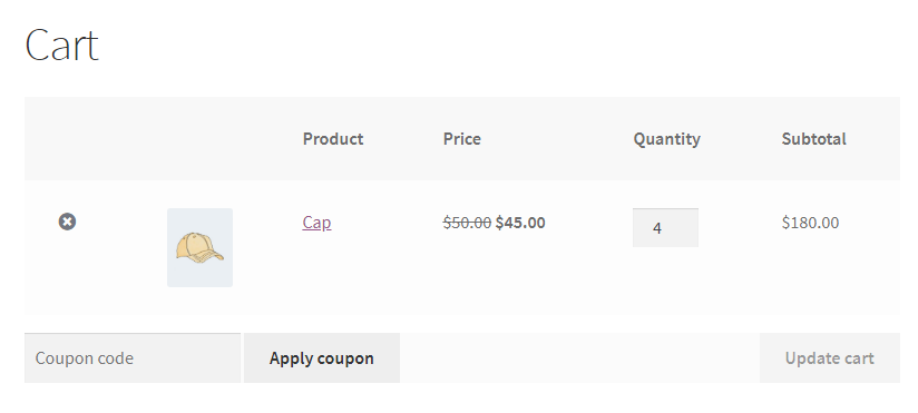 WooCommerce Bulk Discount Rule For A Product