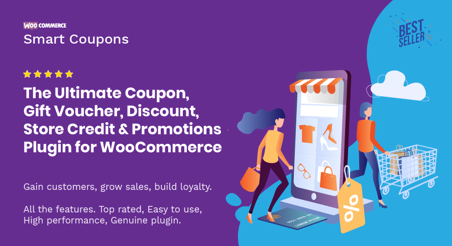woocommerce smart coupons plugin