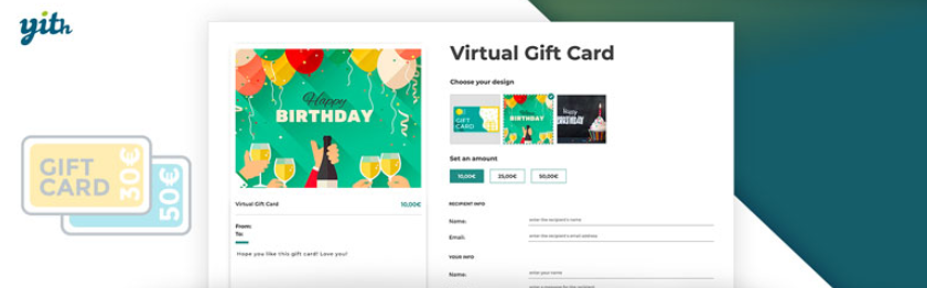 woocommerce gift cards plugin