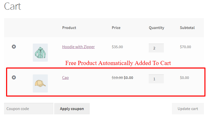 WooCommerce Dynamic Pricing and Discounts Plugin Auto Add Free Products To The Cart