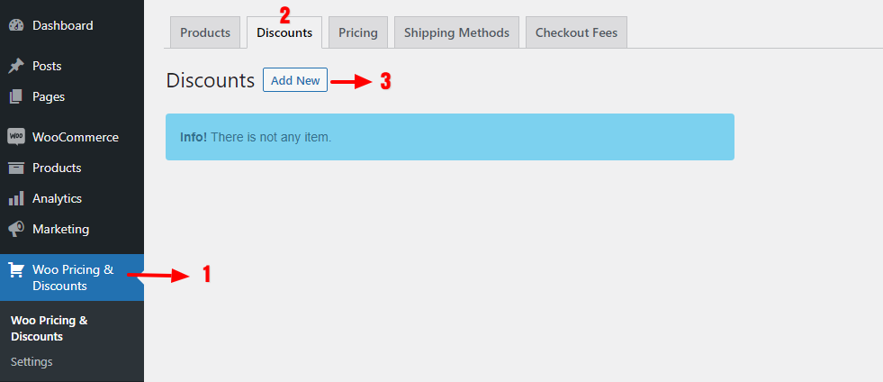 Creating cart discounts