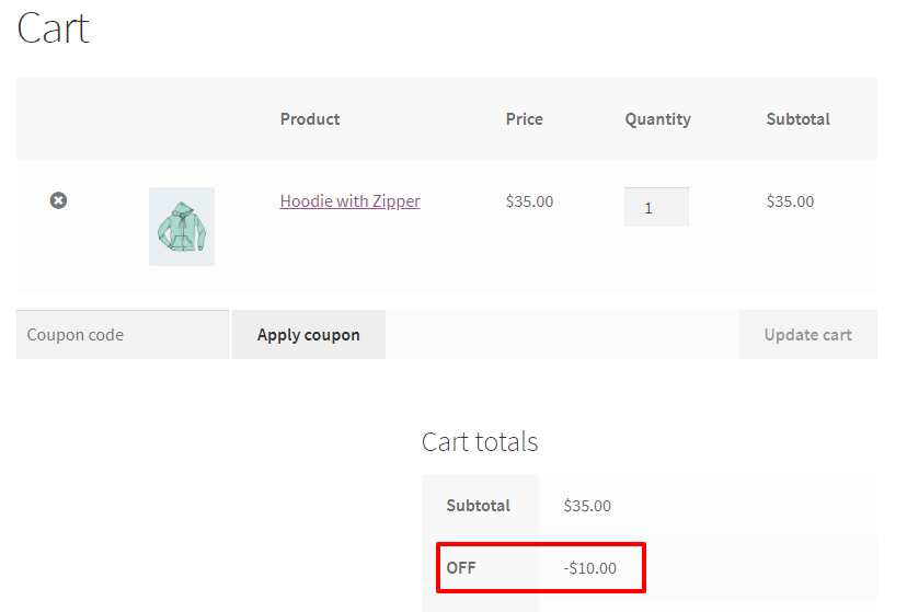Personalized coupon for WooCommerce