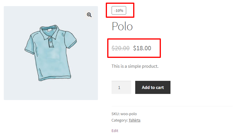 WooCommerce Dynamic Pricing and Discounts Free Plugin product percentage discount