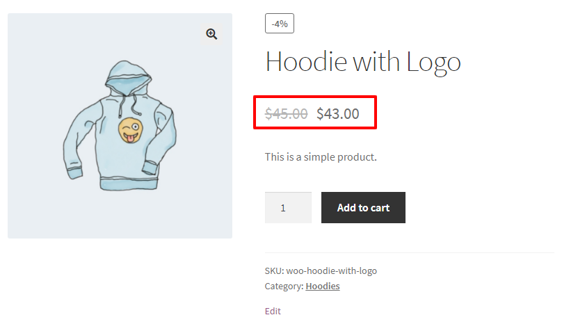 WooCommerce Dynamic Pricing and Discounts Free Plugin product price discount