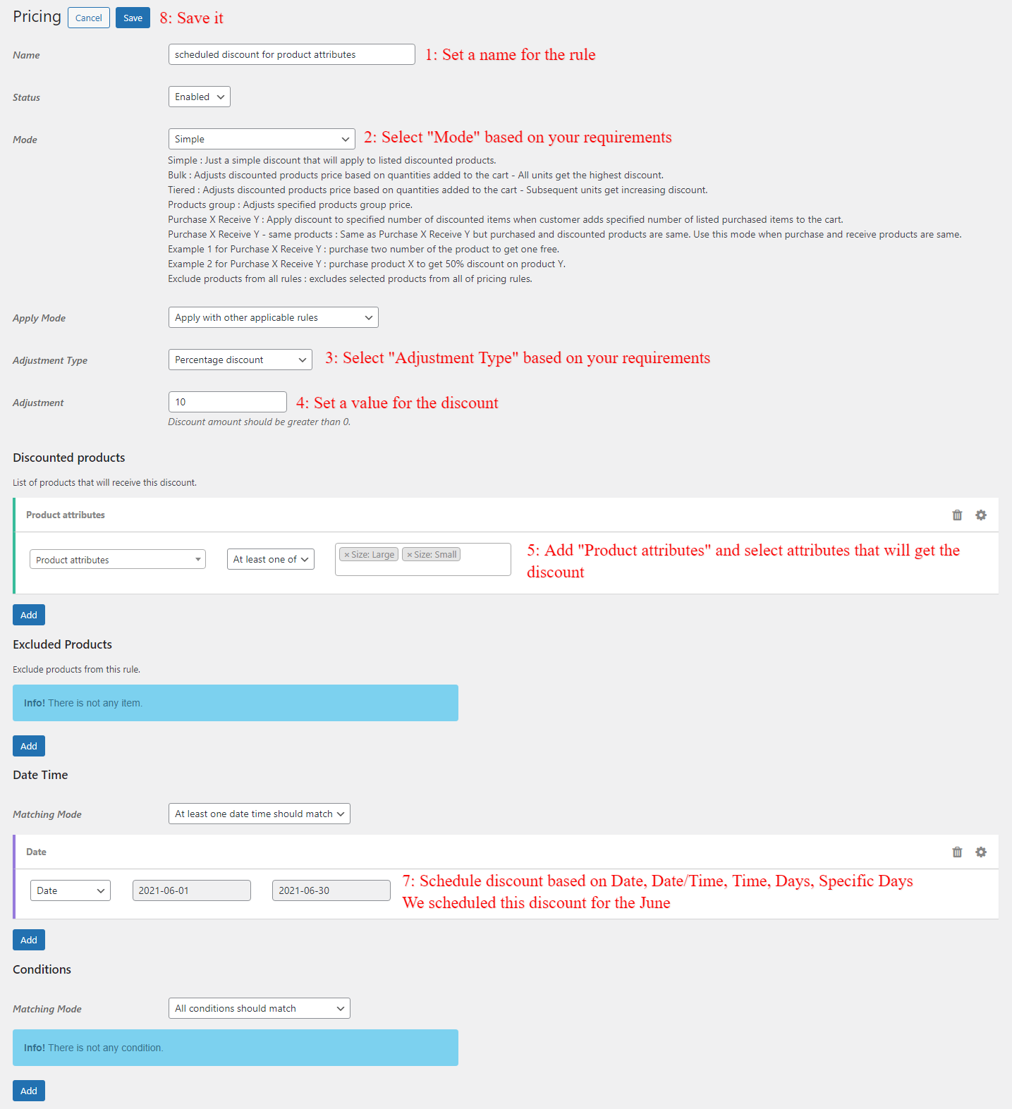 Scheduling WooCommerce product attributes for sale