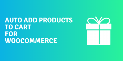 Auto add products to cart for WooCommerce